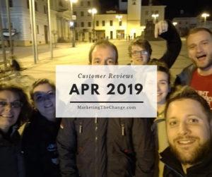 Website Reviews Apr 2019