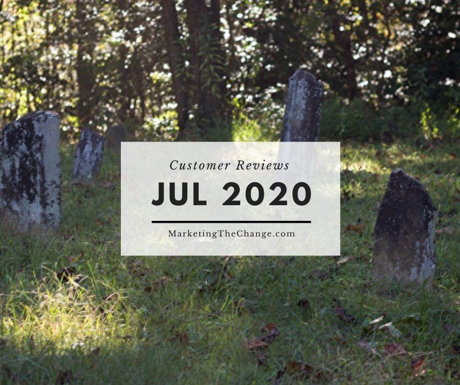 Website Reviews july 2020