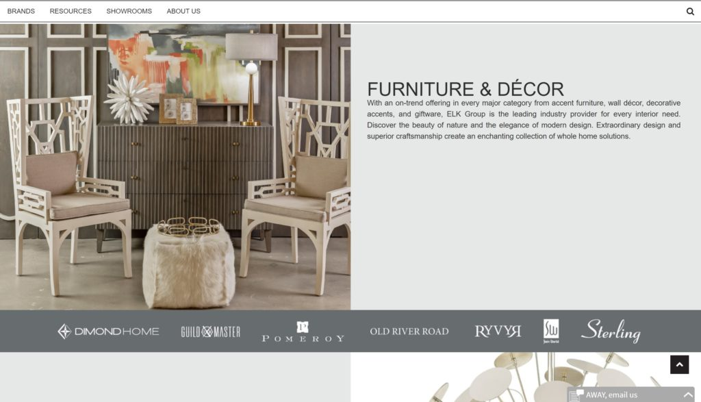 FURNITURE & DÉCOR WooCommerce wesbites