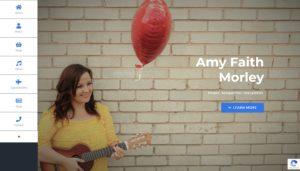 music artist website hosting
