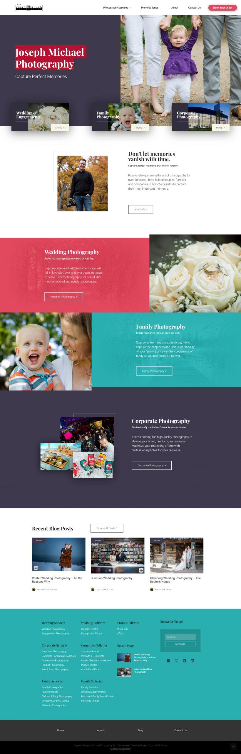 Joseph Michael Photgraphy Website marketing2 min scaled