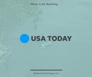 Photo Link Building USA Today