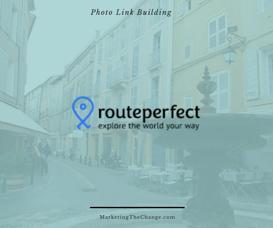 Photo Link Building routeperfect
