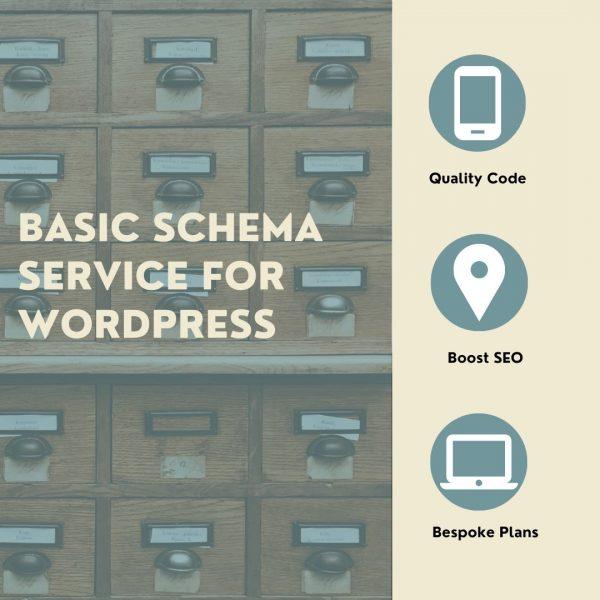 Basic Schema Service for WordPress