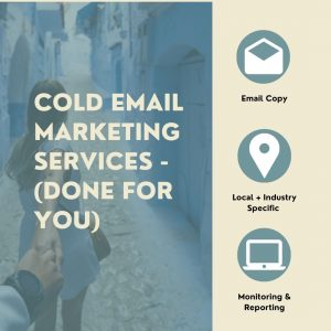 Cold Email Marketing Services - (Done for You)