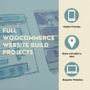 Full WooCommerce Website Build Projects