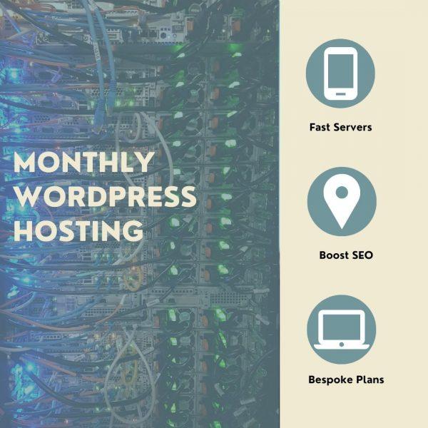 Monthly WordPress Hosting UK