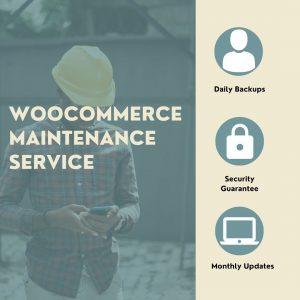 WooCommerce Maintenance Service